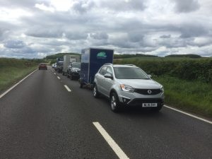 In convoy to Edinburgh